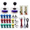 Kit LED 2 jugadores Joystick Zippy + 18 botones + Zero Delay USB